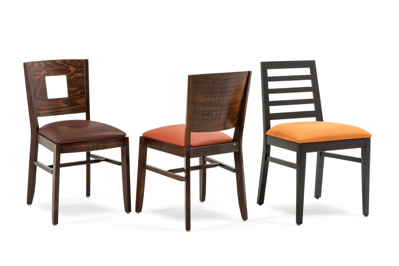 sillas para restaurantes y cafeterias