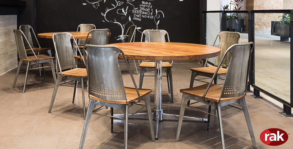 Rak mobiliario para restaurantes y cafeterias for Mobiliario cafeteria
