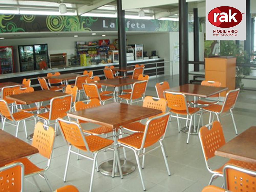 Rak mobiliario para restaurantes y cafeterias for Sillas para empresas